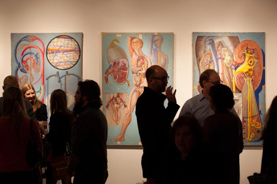 Exposición Dissecting Art, Intersecting Anatomy
